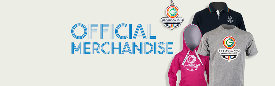 Visit the offical Glasgow 2014 online shop