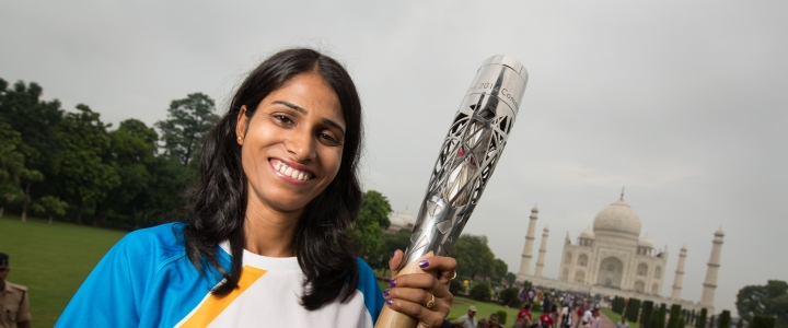 Queen's Baton Relay Day 4 India Image