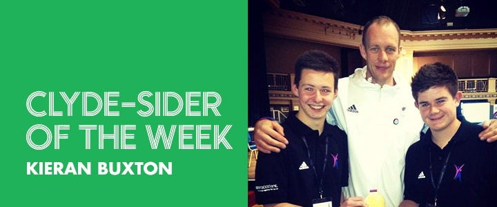 Clyde-sider of the Week - Kieran Buxton