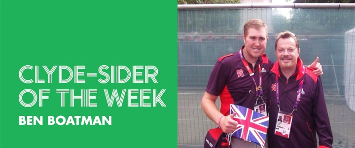 clyde-sider of the week - Ben Boatman