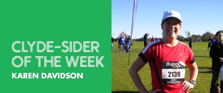 clyde-sider of the week - Karen Davidson