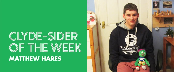 clyde-sider of the week - Matthew Hares