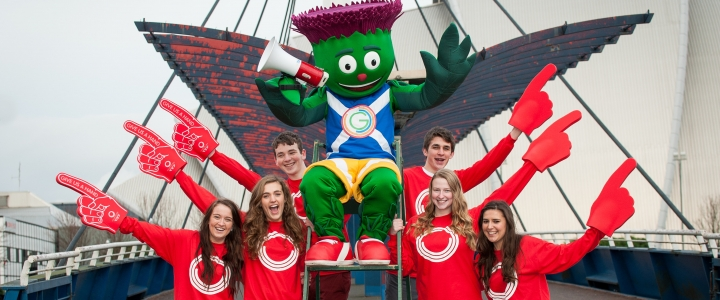 Clyde by the Clyde with volunteer helpers