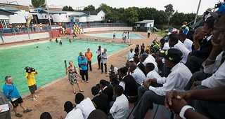 Day 125 south africa glasgow 2014 commonwealth games for Public swimming pools in johannesburg