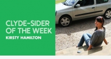 Clyde-sider of the Week Kirsty Hamilton