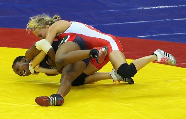 2010 commonwealth games womens wrestling