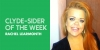 clyde-sider of the week - Rachel Learmonth