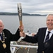 (left to right) Provost Robert Moran and Counci...