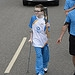 Batonbearer 013 Fraser Cummings carries the Gla...