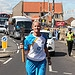 Batonbearer 028 Angela Davie carries the Glasgo...