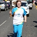 Batonbearer 018 Laura Henderson carries the Gla...