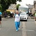 Batonbearer 007 Lynne Cruickshank carries the G...