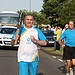 Batonbearer 007 Brian Rocks carries the Glasgow...