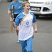 Batonbearer 008 Rheana Milne carries the Glasgo...