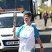 Batonbearer 033 Joyce MacEwan carries the Glasg...