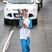 Batonbearer 006 Josephine Crofts carries the Gl...