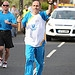 Batonbearer 002 Ronald Brown carries the Glasgo...