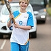 Batonbearer 006 Aimee Higginson carries the Gla...