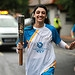 Batonbearer 037 Manaim Shah carries the Glasgow...