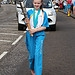 Batonbearer 022 Laura Mooney carries the Glasgo...
