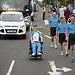 Batonbearer 007 Matthew Adshead carries the Gla...