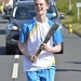 Batonbearer 007 Liam Brannan carries the Glasgo...