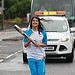 Batonbearer 034 Anisa Haleem carries the Glasgo...