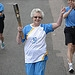 Batonbearer 011 Marjorie Gillan carries the Gla...