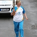 Batonbearer 020 Linda Young carries the Glasgow...