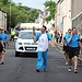 Batonbearer 008 Gary Fawcett carries the Glasgo...