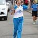 Batonbearer 019 Frances McKeown carries the Gla...