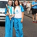 Batonbearer 021 Kayleigh Jeffrey passes the Gla...