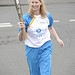 Batonbearer 004 Karen Grossart carries the Glas...