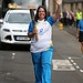 Batonbearer 022 Jill Fawcett carries the Glasgo...