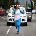 Batonbearer 006 Kirsty Hamilton carries the Gla...