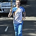 Batonbearer 027 Vincent Jozajtis carries the Gl...