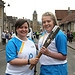 Batonbearer 007 Chloe Wotherspoon hands the Gla...