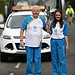 Batonbearer 023 James Green hands the Glasgow 2...