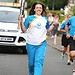 Batonbearer 014 Rachel Hyslop carries the Glasg...