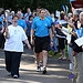 Batonbearer 018 Lesley McConnoch carries the Gl...