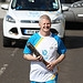 Batonbearer 031 Charlie Kane carries the Glasgo...