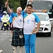 Batonbearer 018 Oi Yin Cheung hands the Glasgow...
