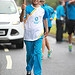Batonbearer 041 Nadeem Siddiqui carries the Gla...