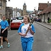 Batonbearer 007 Chloe Wotherspoon carries the G...