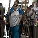 Batonbearer 002 Tanya Chapman carries the Glasg...