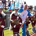 Batonbearer 033 Petur Petursson carries the Gla...