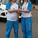 Batonbearer 012 Laura Cruickshank hands the Gla...
