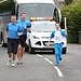 Batonbearer 007 Darren Carruthers carries the G...