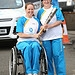 Batonbearer 015 Jane Egan hands the Glasgow 201...