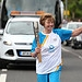 Batonbearer 013 Georgette Fulton carries the Gl...